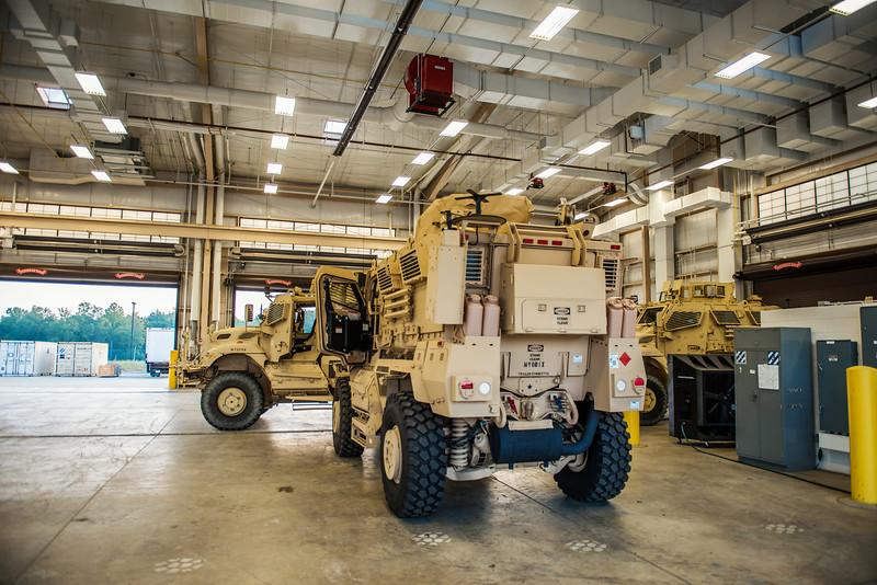 MRAP Communication Equipment Installation
