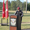 (FORT BENNING, Ga) Maj. Gen. Eric J. Wesley welcome home Soldiers from the U.S. Army Marksmanship Unit (USAMU) as they return from competing in the Olympic Games in Rio de Janeiro, August 26, 2016. He also gave remarks for the send-off of our Soldier who will compete in the Rio Paralympic Games. (Photo by: Markeith Horace / MCoE PAO Photographer)