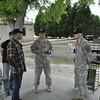 Randy Couture visits AMU