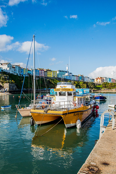 Tenby, just before the second lock down.