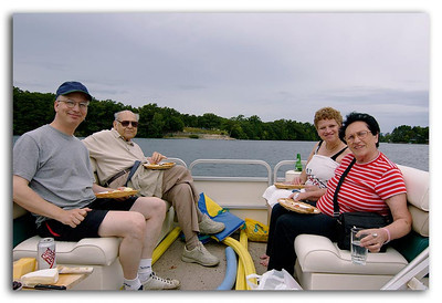 Lunch on Lake Quinsigamond