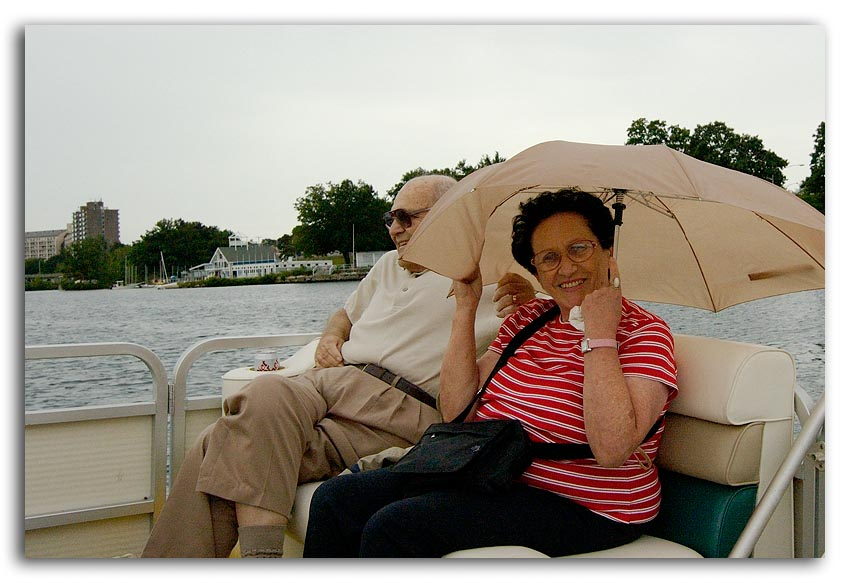 Boating in the Rain