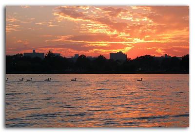 Corona Park Sunset