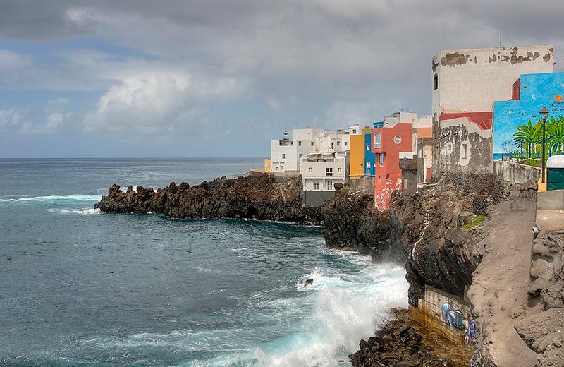 Coastline Puerto De L a Cruz