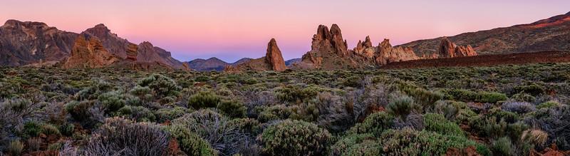 Roques de Garcia, Las Cañadas del Teide
