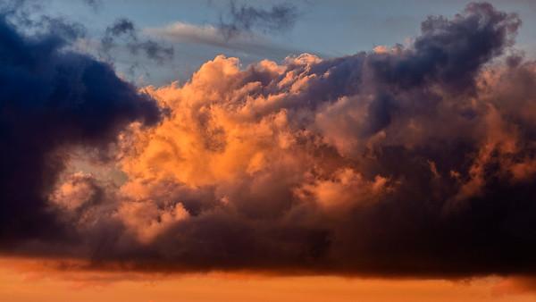 'Albert Bierstadt Clouds' off the South Coast of Tenerife