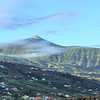 Teneriffa - Tal von La Orotava mit Blick auf den Teide im morgendlichen Licht