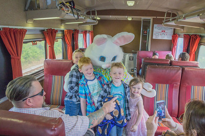 Tennessee Central Railway Museum Easter Bunny Trip 4/14/17