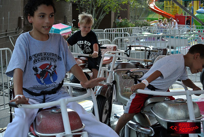 Brazil and Elijah on the Motorcycle Ride