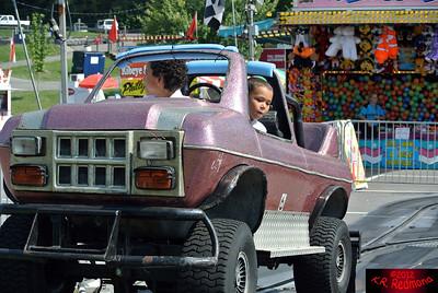 Brazil and Elijah Ride a 'Monster Truck'