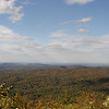 View from Eagle Gap out over Tellico Plains