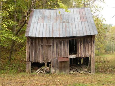 Barn near the old house.
