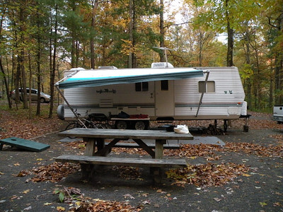 Our camper at Indian Boundary Camp Ground