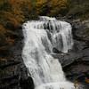 Tighter shot of Bald River Falls