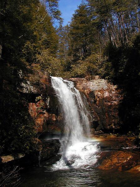 Bullett Creek Falls visit #2 with a rainbow!