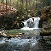 One of many waterfalls in Gee Creek Wilderness TN <br /> Slopes of Starr Mtn.  Cherokee National Forest, TN