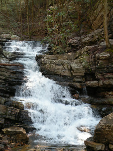 another waterfall along Gee Creek