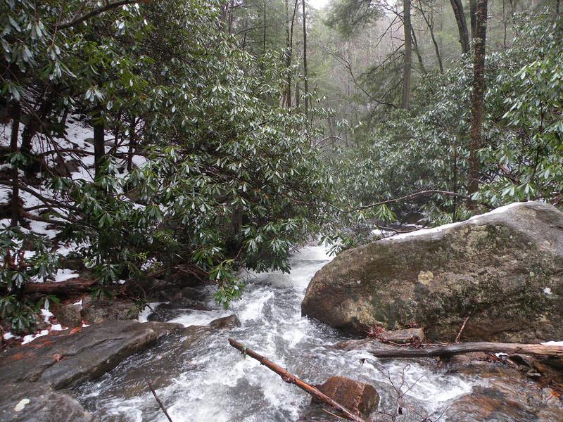 Downstream from Benton Falls