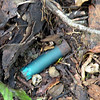 Shotgun shell casing.. another chance to set the tone of this story.