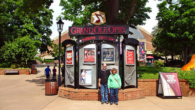 Mark and Megan at THE GRAND OLE OPRY in Nashville, TN - Music City USA