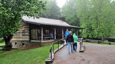 Visiting Cades Cove in the Great Smoky Mountain National Park
