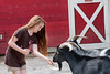 A girl feeds a goat at Warner Park Ranch at the Chattanooga Zoo in Chattanooga, TN on Monday, July 20, 2015. Copyright 2015 Jason Barnette