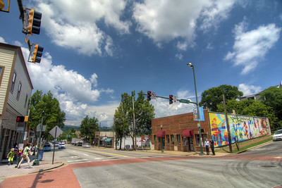 The NorthShore neighborhood in Chattanooga, TN on Wednesday, July 22, 2015. Copyright 2015 Jason Barnette