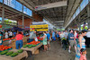 Locals and tourists alike shop for fresh produce, baked and canned goods, arts and crafts, and gift ideas at the Chattanooga Market at the First Tennessee Pavilion in Chattanooga, TN on Sunday, July 19, 2015. Copyright 2015 Jason Barnette