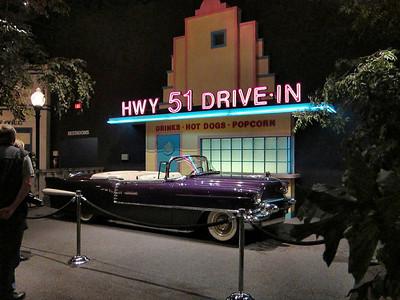 Elvis Presley's Graceland in Memphis, Tennessee