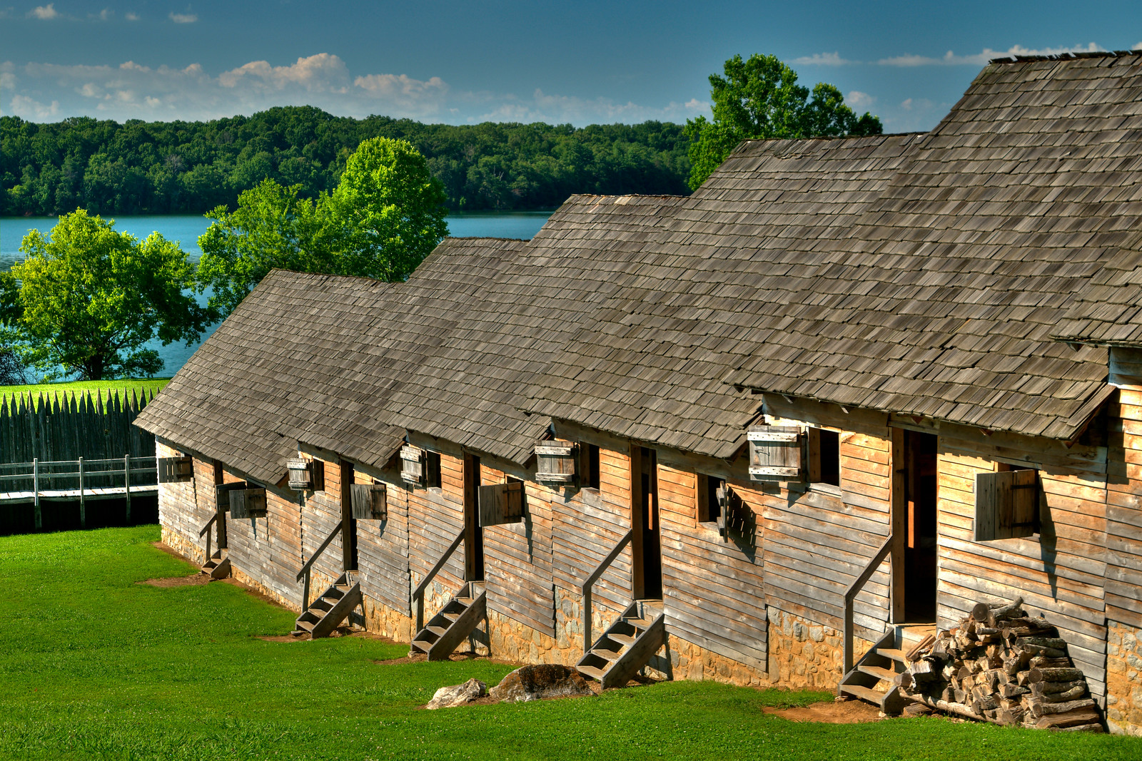 at Fort Loudon State Historic Park
