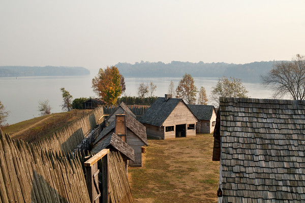 at Fort Loudoun State Historic Site