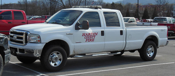 """""""Truck""""<br /> 2000's Ford F-250<br /> Support Unit<br /> <br /> Andrew Messer Photo"""