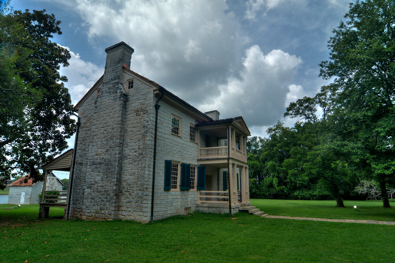 at Rock Castle State Historic Site
