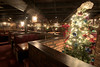 A Christmas tree and decor brighten The Original Copper Cellar in the basement beneath the main restaurant in Knoxville, TN on Sunday, December 14, 2014. Copyright 2014 Jason Barnette