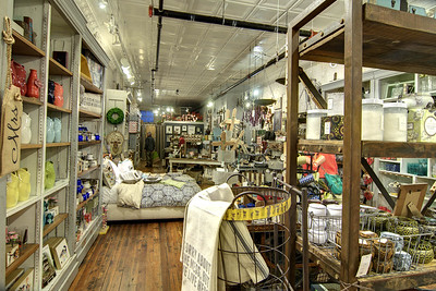 Lots of locally made crafts at the Bliss Home store at Market Square in Knoxville, TN on Tuesday, December 16, 2014. Copyright 2014 Jason Barnette