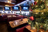 Christmas decor adorns the rails and tables at The Copper Cellar in Knoxville, TN on Sunday, December 14, 2014. Copyright 2014 Jason Barnette