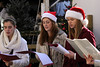 Ladies sing Christmas carols during the Holiday Market at Market Square in Knoxville, TN on Saturday, December 13, 2014. Copyright 2014 Jason Barnette