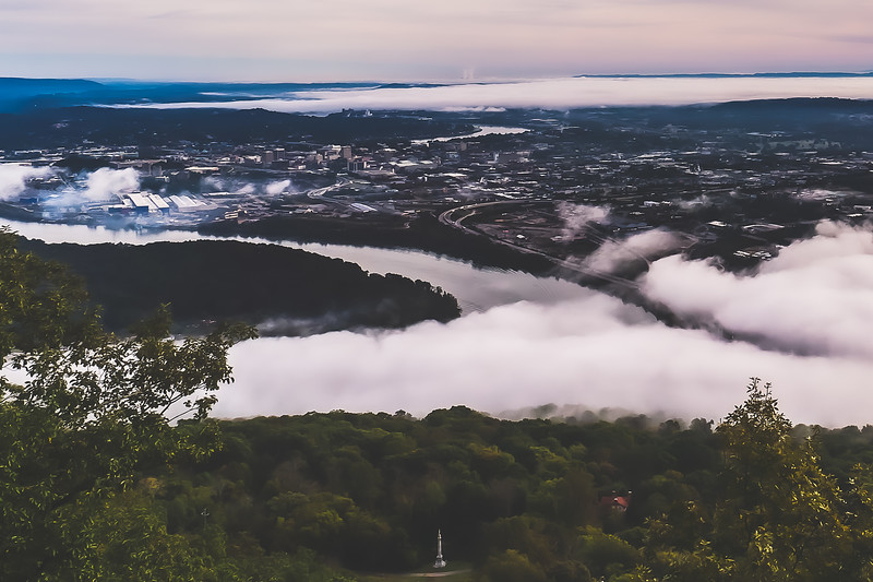 Point Park on Lookout Mountain in Tennessee