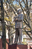 Statue of WC Handy in Memphis, Tennessee, USA.