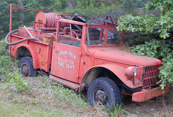 """""""Former Brush Truck"""""""