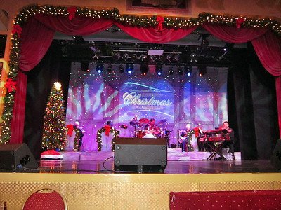 Christmas on board the General Jackson Showboat in Nashville