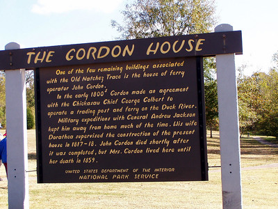 The Gordon House - Natchez Trace