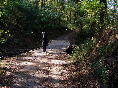 Path on Original Natchez Trace