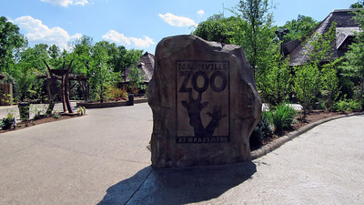 Nashville Zoo April 2016 - Newly Renovated Entrance
