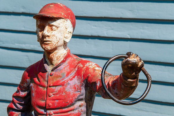 usa, tennessee, nashville, art, statues, horse hitching posts, horse jockeys