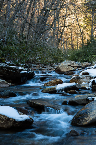 Little Pigeon River Spring Scene