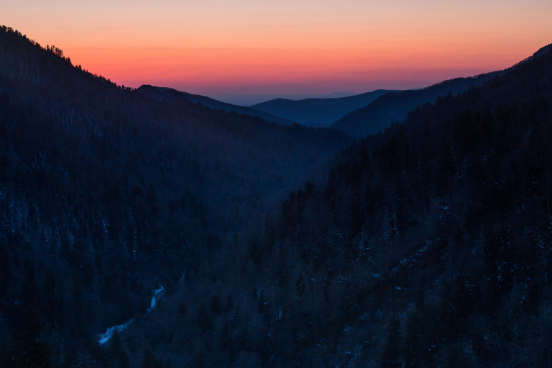 Newfound Gap Sunset