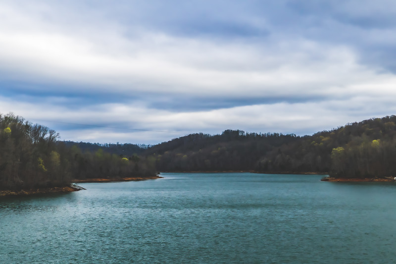 Norris Dam State Park in Rocky Top Tennessee