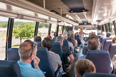DOE Guided Bus Tour in Oak Ridge, Tennessee