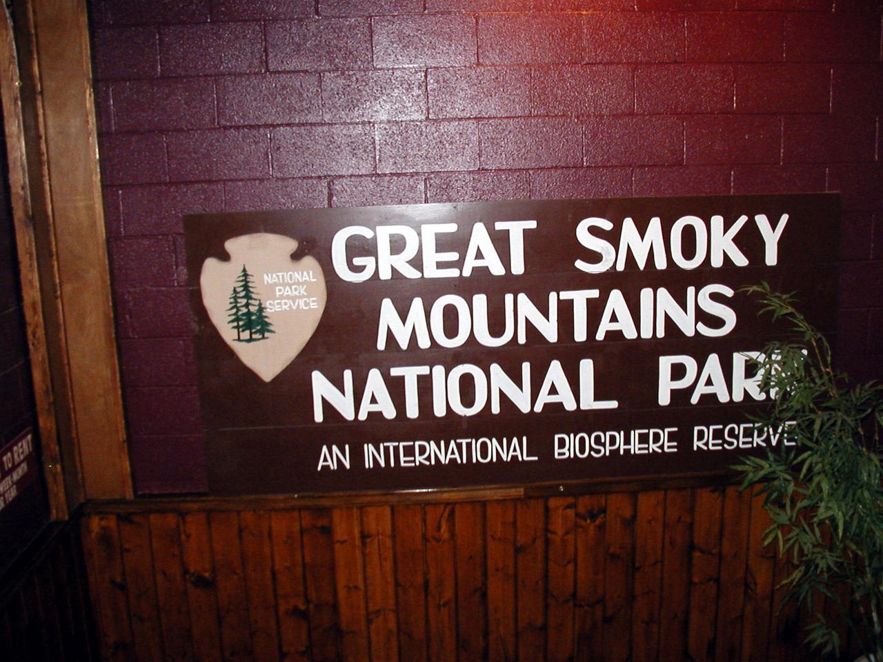 1a   Great Smoky Mountains 2003
